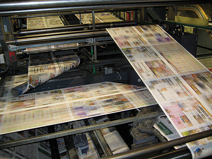 Irish printer expects big things from compact press